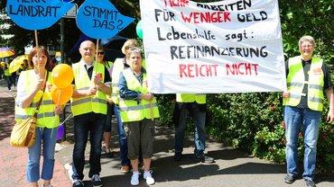 Streik bei der Lebenshilfe