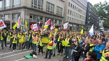 Azubi-Streiktag in Stuttgart