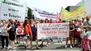 SuE-Demo am 13.6.2015 in Nürnberg