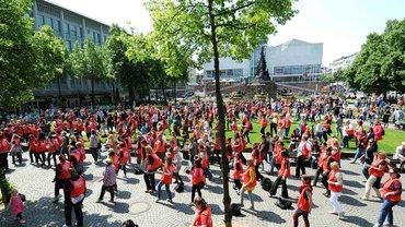 Flashmob Paradeplatz