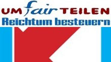 Logo der Aktion umFAIRteilen