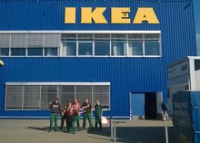 Aussengruppe Heidelberger Werkstätten bei IKEA