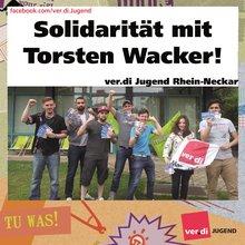 ver.di-Jugend: Solidarität mit Torsten Wacker