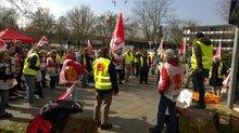 Streik bei SRH Reha