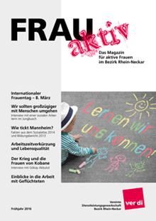 FRAU aktiv 2016 Titelseite