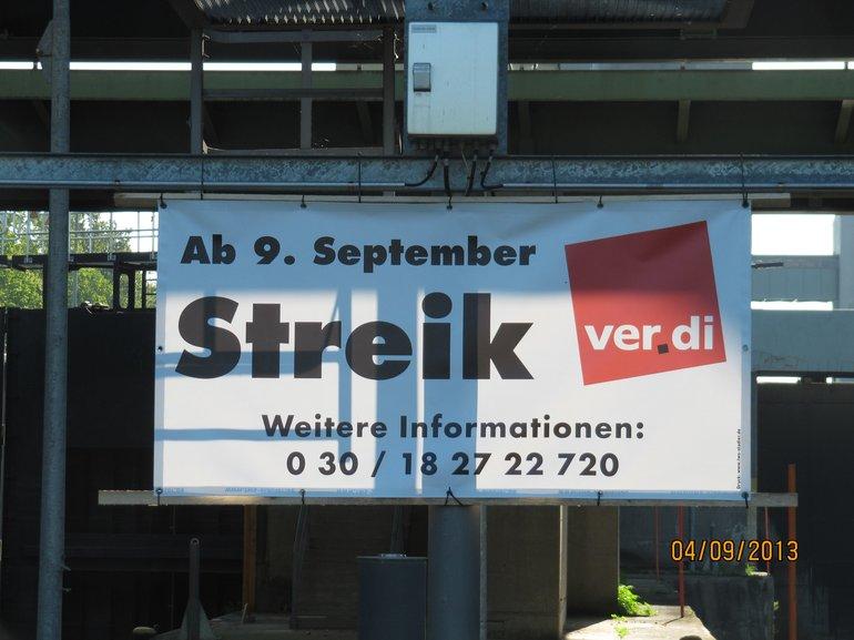 Streik beim WSA