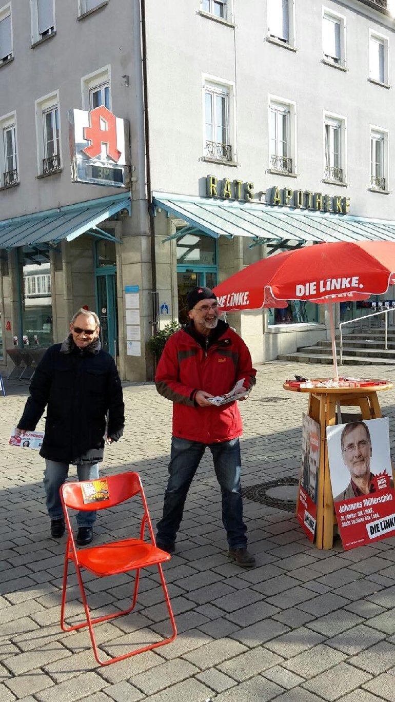 der rote Stuhl von Neckarsulm