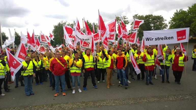 Unbefristete Streiks bei der Deutschen Post