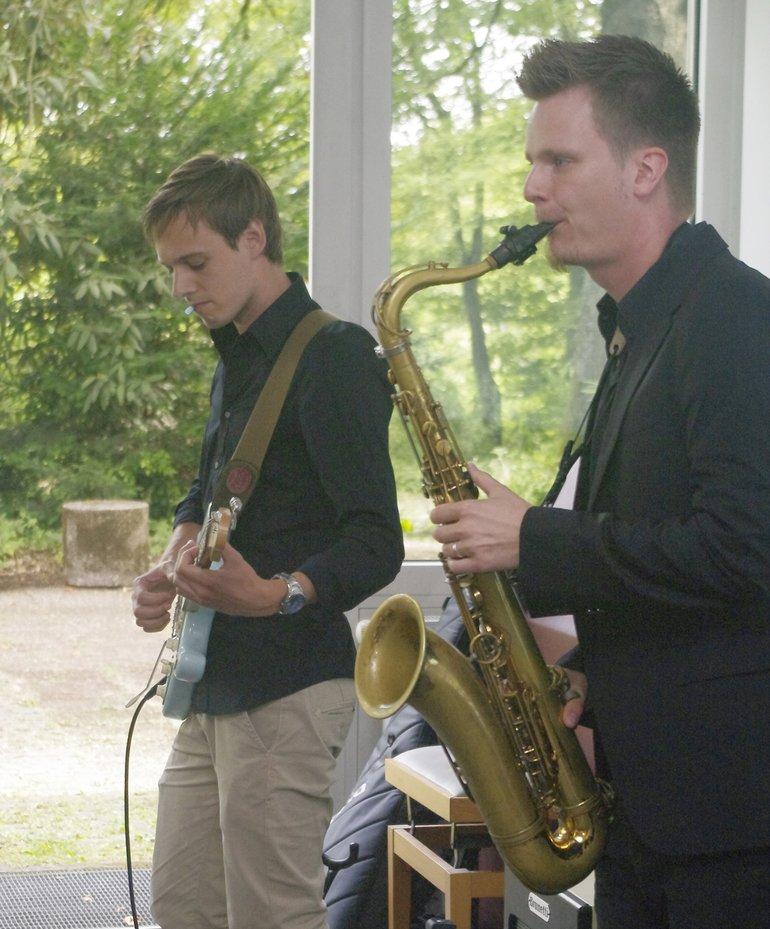 Paul Stoltze (r.) und Jan David