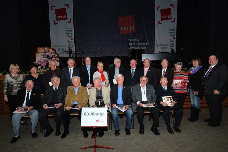 60 Jahre bei der Gewerkschaft