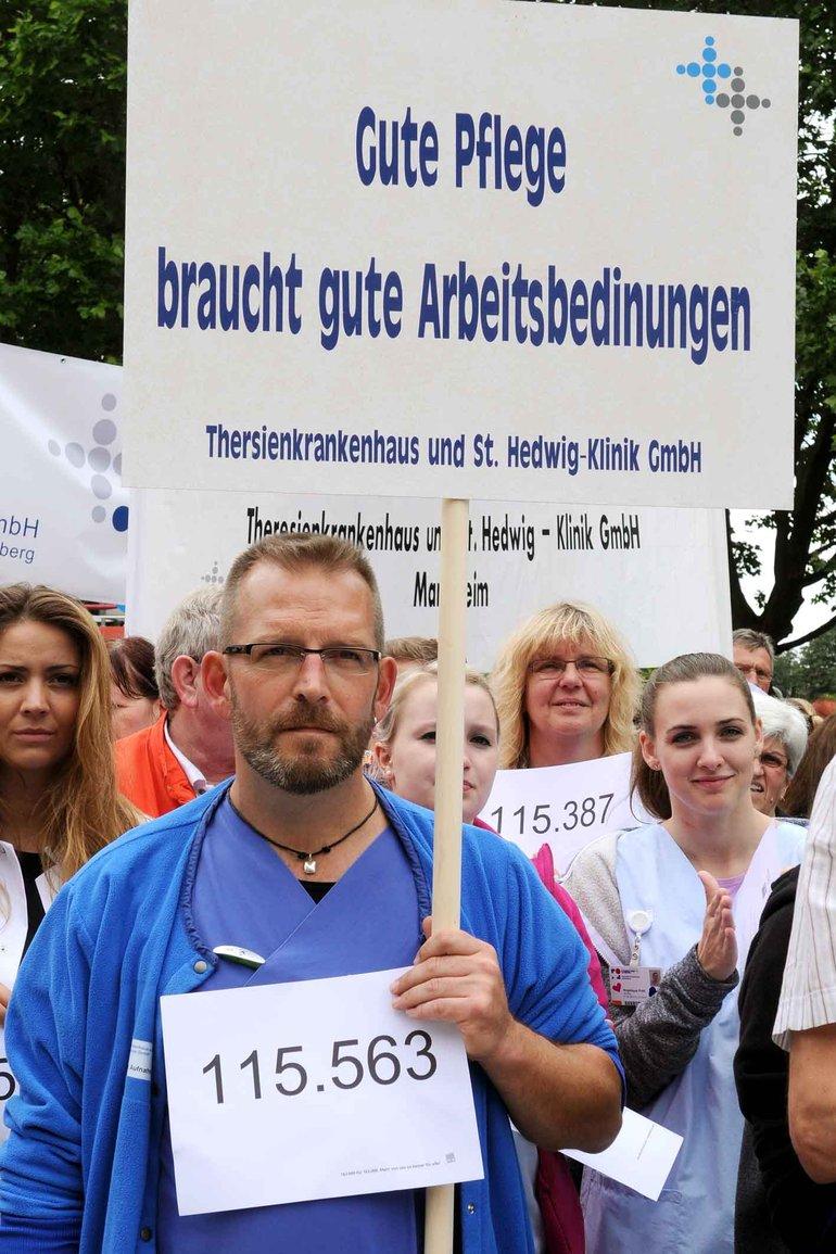 Universitätsklinikum Mannheim mit Theresienkrankenhaus
