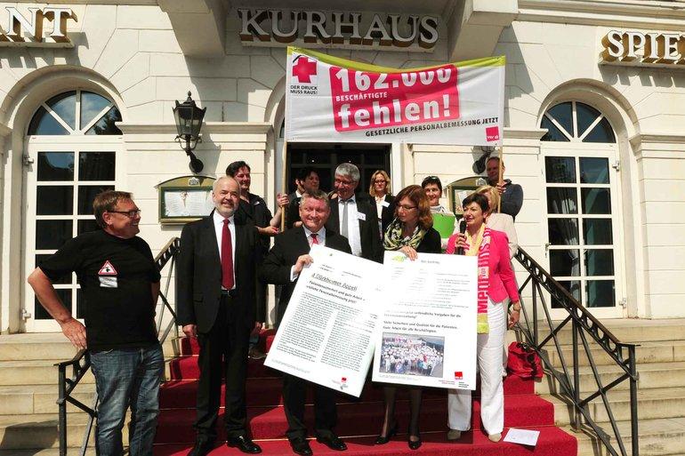 Bei der Gesundheitsministerkonferenz der Länder in Bad Dürkheim