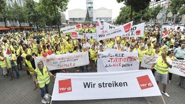 Streik im Handel