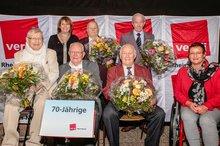 70-jähriges Gewerkschaftsjubiläum