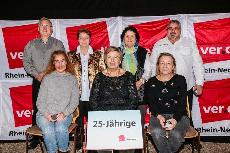 25 Jahre Gewerkschaft Gruppe 1