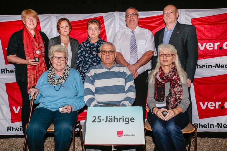 25 Jahre Gewerkschaft Gruppe 3