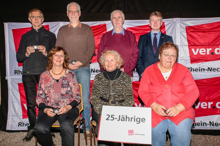 25 Jahre Gewerkschaft Gruppe 4