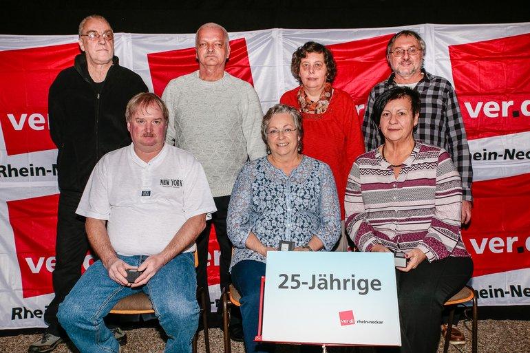 25 Jahre Gewerkschaft Gruppe 5
