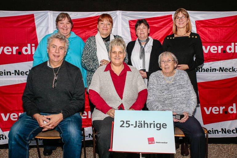 25 Jahre Gewerkschaft Gruppe 7