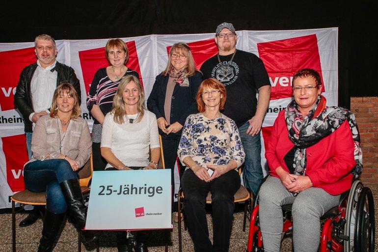 25 Jahre Gewerkschaft Gruppe 8