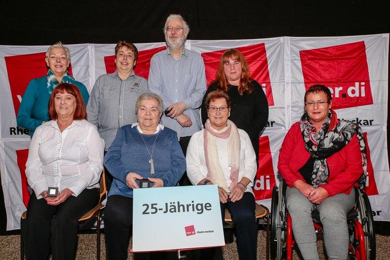 25 Jahre Gewerkschaft Gruppe 10