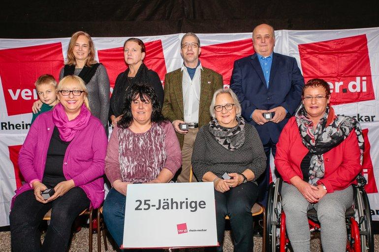 25 Jahre Gewerkschaft Gruppe 11