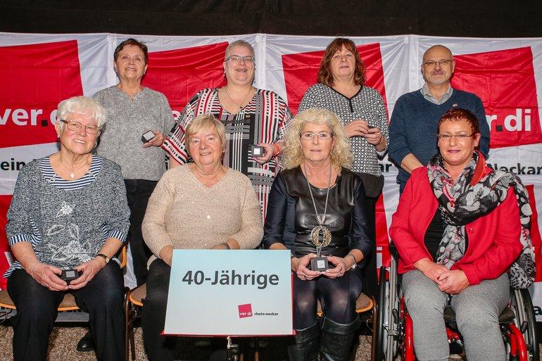 40 Jahre Gewerkschaft Gruppe 1