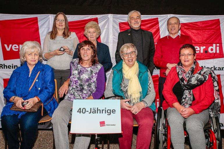 40 Jahre Gewerkschaft Gruppe 2