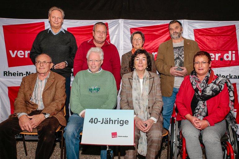 40 Jahre Gewerkschaft Gruppe 3