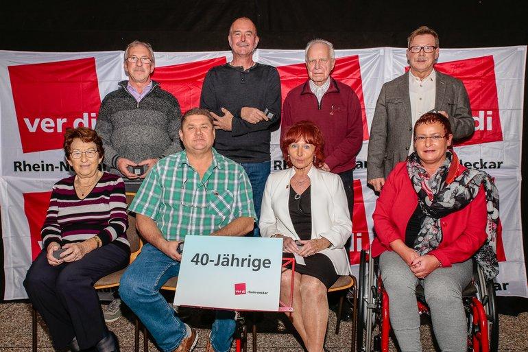 40 Jahre Gewerkschaft Gruppe 4