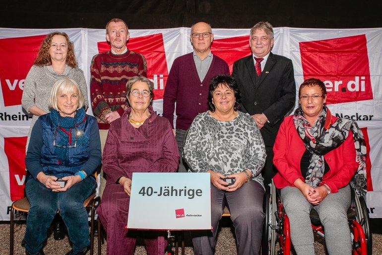 40 Jahre Gewerkschaft Gruppe 6