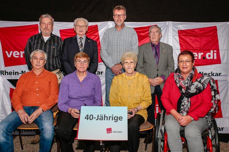 40 Jahre Gewerkschaft Gruppe 7