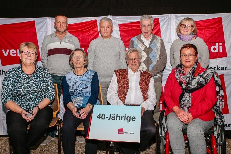 40 Jahre Gewerkschaft Gruppe 8