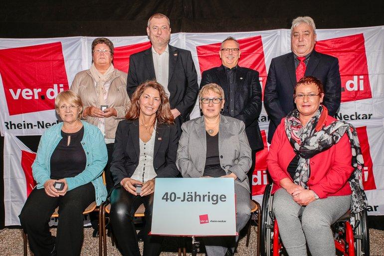 40 Jahre Gewerkschaft Gruppe 9