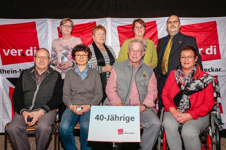 40 Jahre Gewerkschaft Gruppe 10