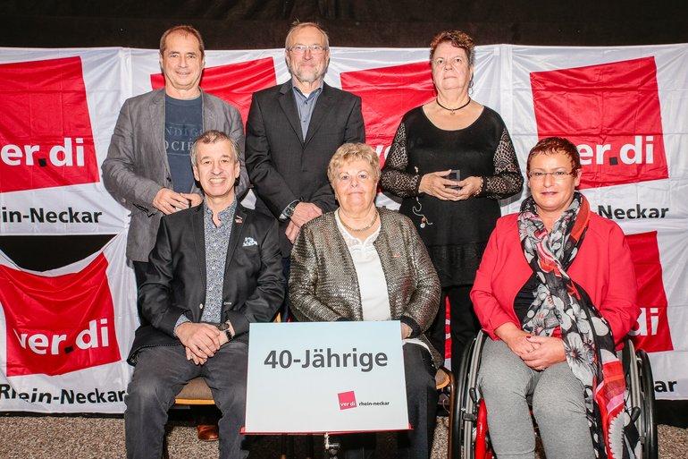 40 Jahre Gewerkschaft Gruppe 11