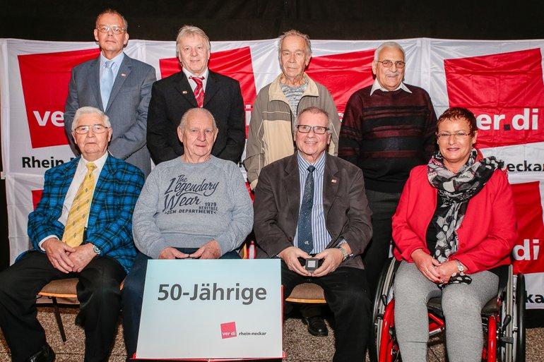 50 Jahre Gewerkschaft Gruppe 1