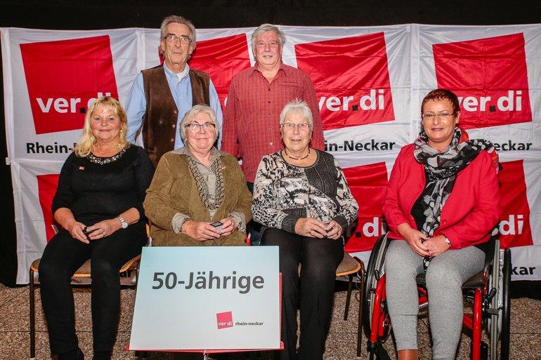 50 Jahre Gewerkschaft Gruppe 2