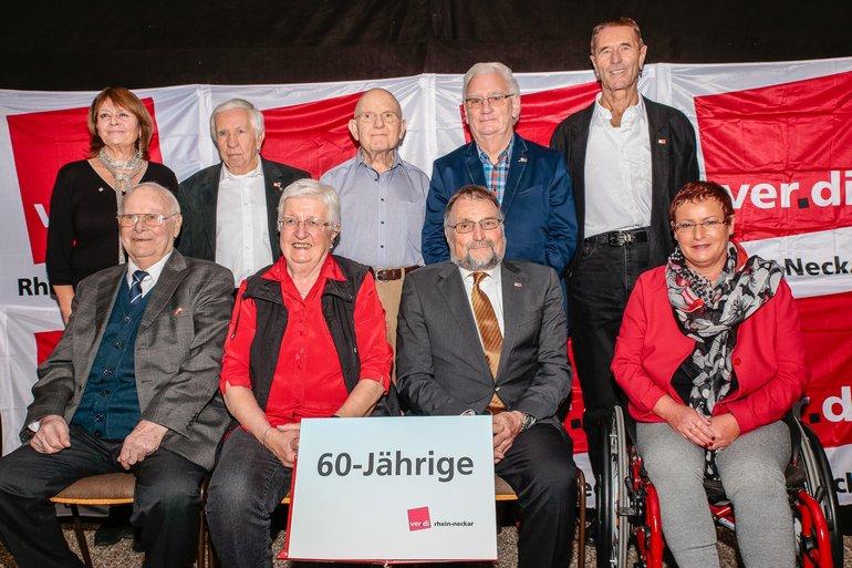 60 Jahre Gewerkschaft Gruppe 1