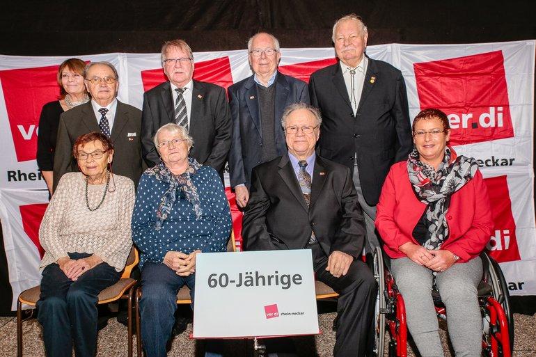 60 Jahre Gewerkschaft Gruppe 2