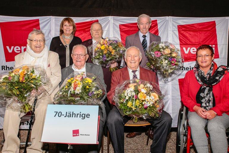 70 Jahre Gewerkschaft