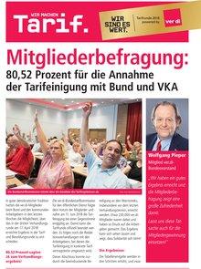 Flugblatt zum Ergebnis der Mitgliederbefragung