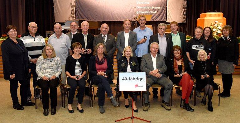 40 Jahre Gewerkschaft (Gruppe 3)