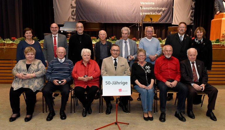 50 Jahre Gewerkschaft (Gruppe 1)