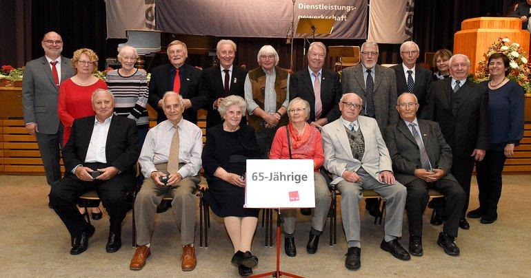 65 Jahre Gewerkschaft