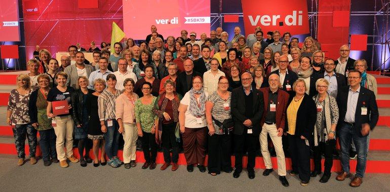 Mit dabei unsere Delegierten aus Rhein-Neckar und aus Baden-Württemberg