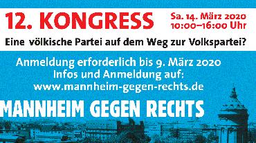 Mannheim gegen Rechts 2020