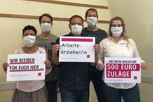 Arbeitserzieher*innen in der Psychiatrie fordern: 500 Euro Prämie