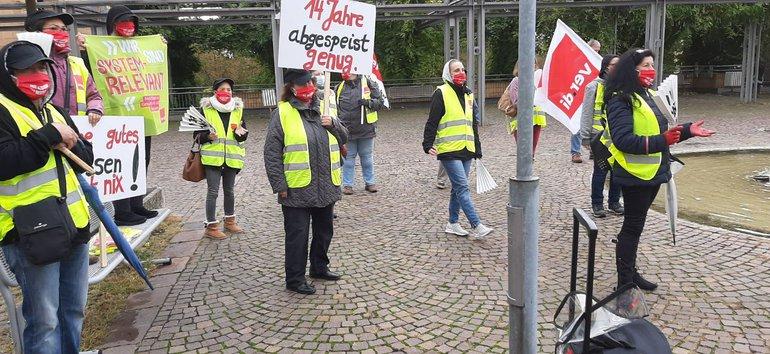 Warnstreik bei SGN in Wiesloch